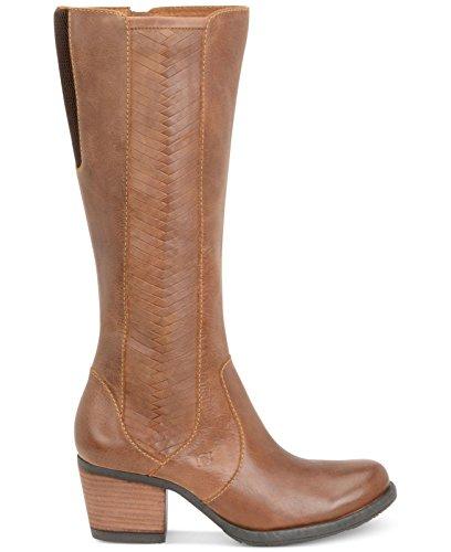 Born May Tan Tall Boot Women Size 6.5 M (Born Boots Snow)