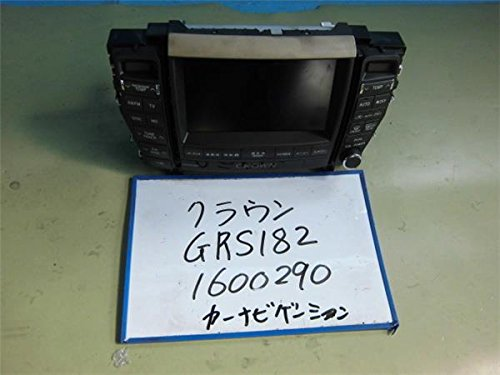 トヨタ 純正 クラウン S180系 《 GRS182 》 カーナビゲーション P60700-16004225 B01MT2CP5I