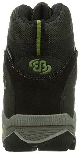 Bruetting Blizzard S - Zapatillas de senderismo Hombre Grau (grau/schwarz/grün)