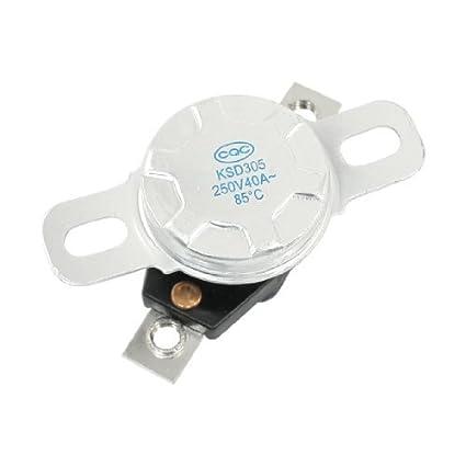 Controlador de Temperatura bimetálico termostato KSD305 - - Amazon.com