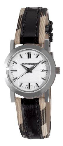 Burberry Women's BU1396 Round 3-Hand Date White Dial Watch
