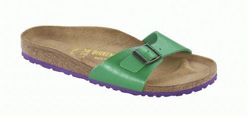 Birkenstock Sandals ''Madrid'' from Birko-Flor in Graceful Green 43.0 EU W