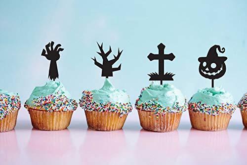Happy Halloween, Cupcake Topper, Zombie Cake Topper, Halloween Party Idea, Halloween, Custom Halloween Signs, Halloween Ideas, Diy Halloween