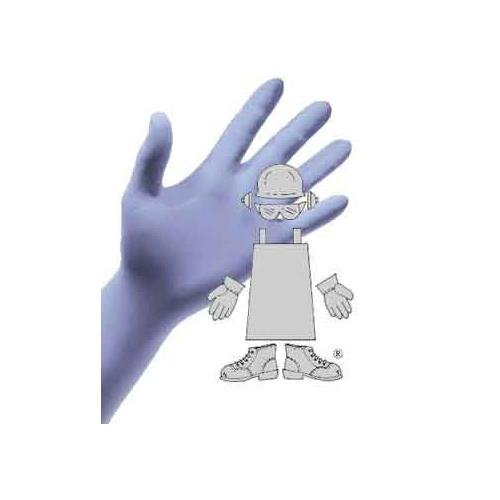 3mil Blue Safety Zone GNPR-XL-2 Powder Free Glove XL Nitrile Pack of 2000