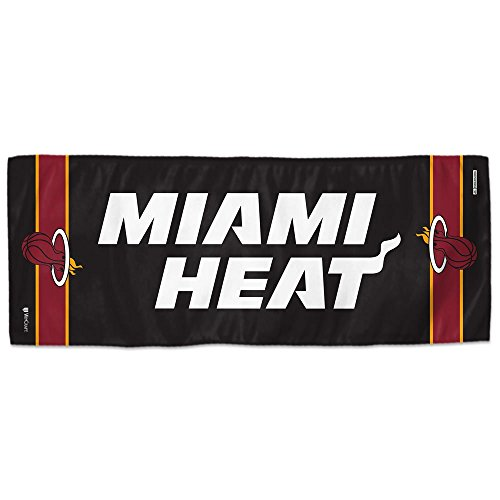 (Mission NBA Team Enduracool Microfiber Towel, Miami Heat, 12