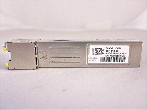 - Cisco GLC-T 1000BASE-T SFP Gigabit Interface Converter GLC-T 30-1410-03