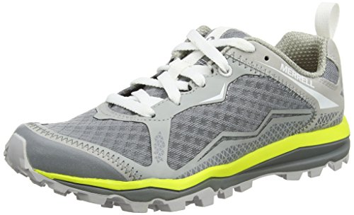 Merrell All out Crush Light, Zapatillas de Running para Asfalto para Mujer Gris (Monument/Vapor)