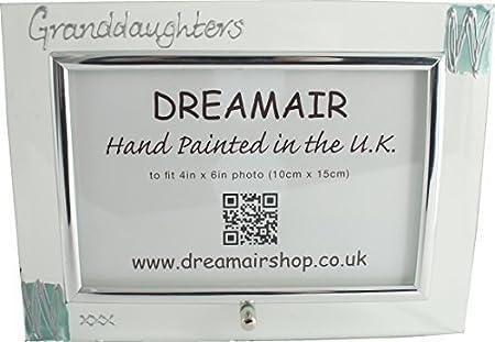 GRANDDAUGHTERS photo frame (landscape turq): Amazon.co.uk: Kitchen ...