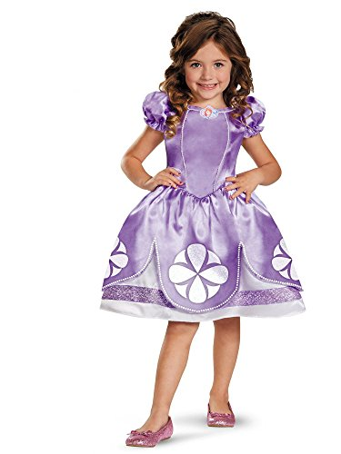 Girl's Disney Sofia The First Classic Costume, -