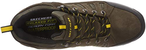 Relment Boot Khk Skechers Hiking Men's Songeo A07wwqgY