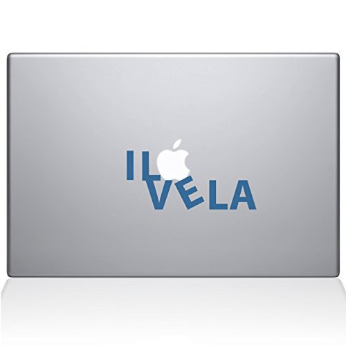 The Decal Guru 0201-MAC-13X-LB B0788HDKSS I Love & LA Vinyl Sticker Macbook 13 Macbook Pro (2016 & newer) Blue [並行輸入品] B0788HDKSS, ヴェニスの商人:c025bc54 --- fooddim.club