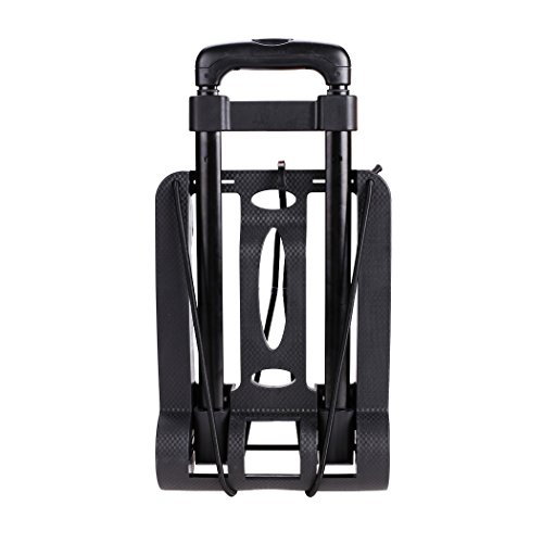 Kaluo Folding Hand Truck 90 Lbs Capacity 4 Wheels Portable Dolly Cart Hand Trolley For Luggage ,Traveling, Shopping, Moving and Office Use by Kaluo (Image #7)