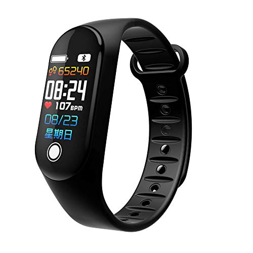 Fitness Tracker – Aiworth Smart Fitness Watch with Pedometer Distance Calories Blood Pressure Monitor Heart Rate Monitor…