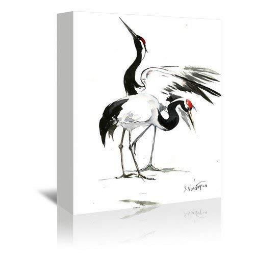 Americanflat Americanflat Japanese Cranes Gallery [並行輸入品] Wrapped Canvas Print x by Suren Nersisyan 11 H x 14 W x 1 D [並行輸入品] B07GZFQPHF, 腕時計のセレクトショップカプセル:f3a769e0 --- gallery-rugdoll.com