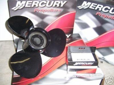 Mercury Marine Black Max 14 x 13P 3-Blade Aluminum Prop Propeller 48-77340A45