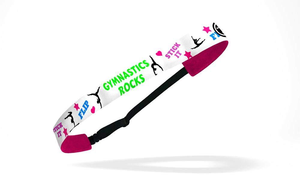 RAVEbandz Exclusiveファッションヘッドバンド(体操Rocks ) Ñ調節可能、ノンスリップスポーツ&フィットネス用ヘアバンドレディース、ガールズ   B00GGOLCTW