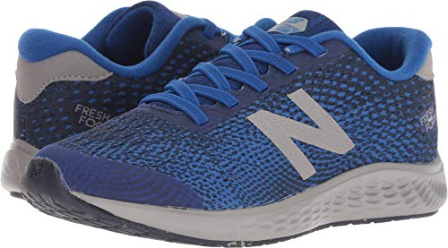 New Balance Boys' Arishi Next V1 Hook and Loop Running Shoe, Team Royal, 3.5 W US Big Kid