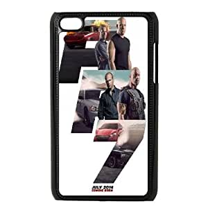 Qxhu fast and furious Hard Plastic Back Protective case for Ipod Touch4
