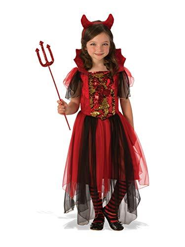(Rubie's Color Magic Devil Child's Costume, Red/Black,)