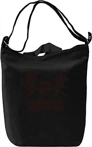 Horny man Borsa Giornaliera Canvas Canvas Day Bag| 100% Premium Cotton Canvas| DTG Printing|