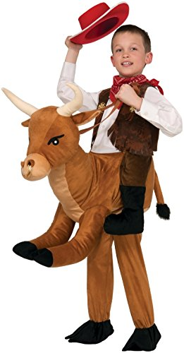 Rider Girl Costume (Forum Novelties Ride-A-Bull Costume, One Size)