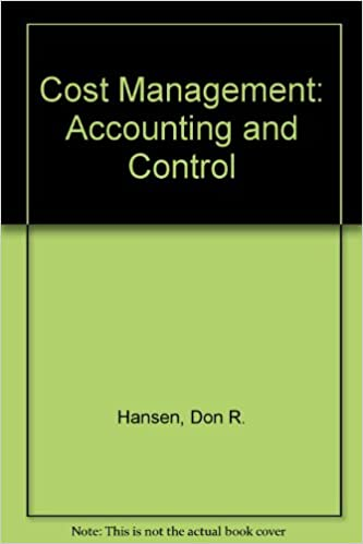 Amazon cost management accounting and control ab accounting cost management accounting and control ab accounting principles 1st edition fandeluxe Gallery