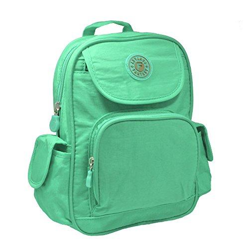 Mini Bag Unisex School Mint College Fabric Rucksack Bag Backpack Girls Gym Shoulder HUxwRUqa