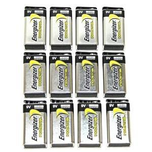Energizer 9V Industrial Strength Alkaline Battery 625mAh - 12-pack