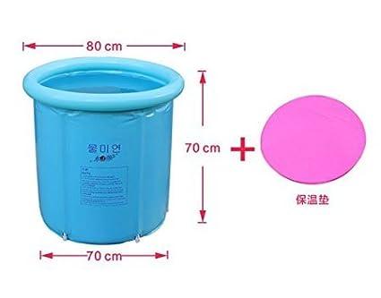 Vasca Da Bagno Plastica Portatile : Pieghevole vasca da bagno ripiegabile e portatile in plastica e