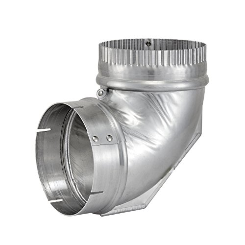 Lambro Industries, Dryer Vent Close Elbow, 4 inch. Item #2315