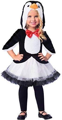 Chicas Lindas Blanco y Negro Pingüino Pájaro Invierno Carnaval ...