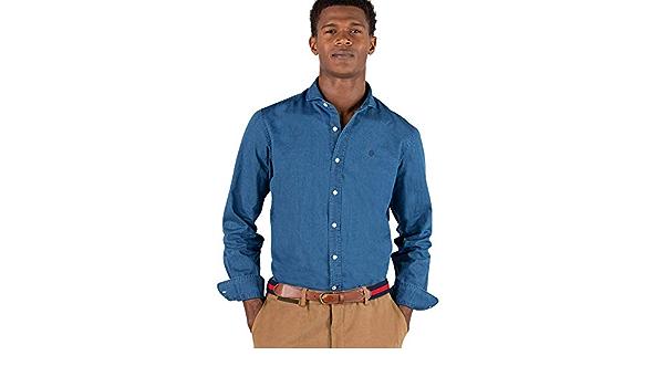 El Ganso Urban Iconic Camisa casual, Azul (Indigo 0022 ...