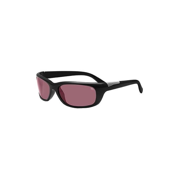 Serengeti Eyewear Negro Verucchio Gafas De Sol De Conductor Polarizado Envolvente