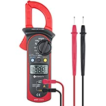 Etekcity MSR-C600 Digital Clamp Meter & Multimeter with AC / DC Voltage Test, (Certified Refurbished)