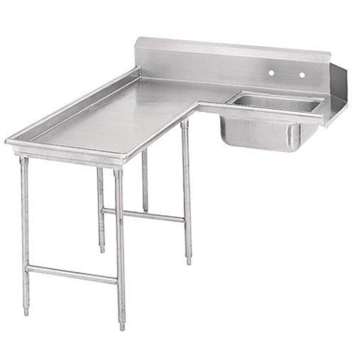 Standard Dishtable (Advance Tabco Standard G70 Series 304 Stainless Steel Soil Island Dishtable, 9 Feet -- 1 each.)