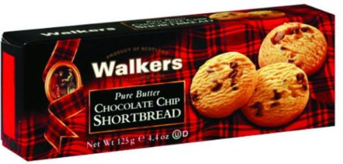 Walkers Classic Shortbread Chocolate Chip - 4.4 oz (Chocolate Chip Shortbread Cookies)
