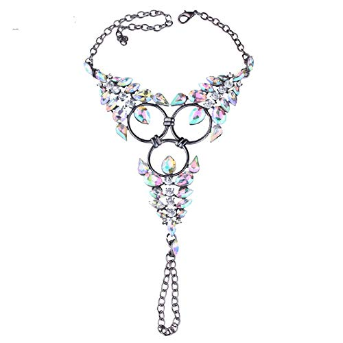 CTRCHUJIAN Anklet Accessories Women's Sexy Rhinestones Barefoot Sandals Crystal Anklet Beach feet Jewelry