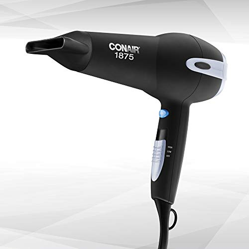 Conair 1875 Watt Ionic Ceramic Hair Dryer, Black