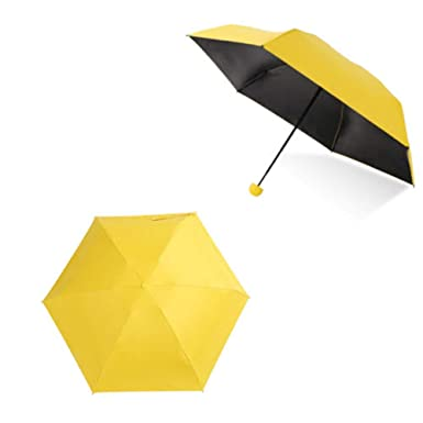 Ultra Luces y Pequeñas Viajar Anti-UV Mini Plegable Paraguas ...