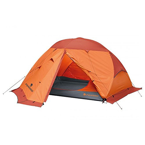 Ferrino Svalbard 3.0 4-Season Tent, Orange, 3-Person by Ferrino