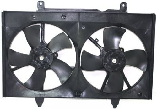 Crash Parts Plus Dual Cooling Fan for 2004-2009 Nissan Quest NI3115126