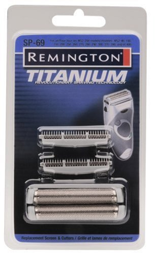 Remington SP 69 MS2 Foil Screen Cutter Blade Head Silver