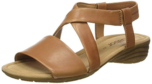 Shoes 64 55 Mujer Gabor Marrón 24 Sandalias cognac SHxCw