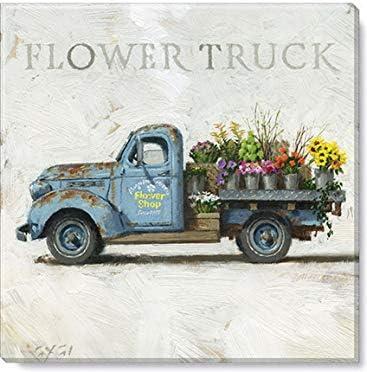 Sullivans Darren Gygi Flower Shop Truck Wall Art