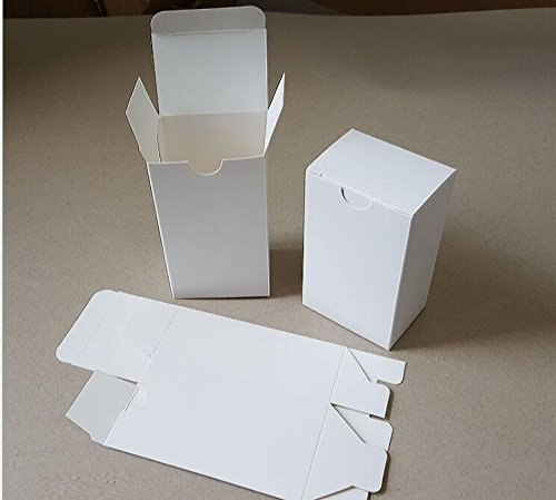 amazon com xlpd 50pcs lot small large white paper gift box for