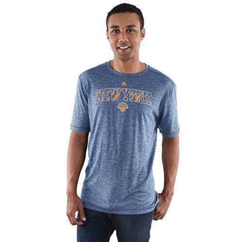 Majestic NBA Men's Future Highlight Play Performance T-shirt (Large, New York -