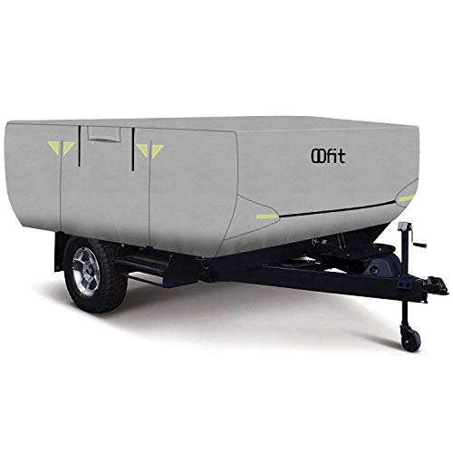OOFIT 4 Layers Pop-up Camper Cover 12'