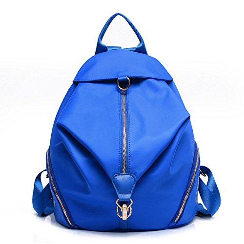 Donne Le Girls In Work Ideale Scuola blue College Nylon Myll All'acqua Sports Zaino Blue Gym Daypack Borse Ladies Per Resistente OvxwPCqn