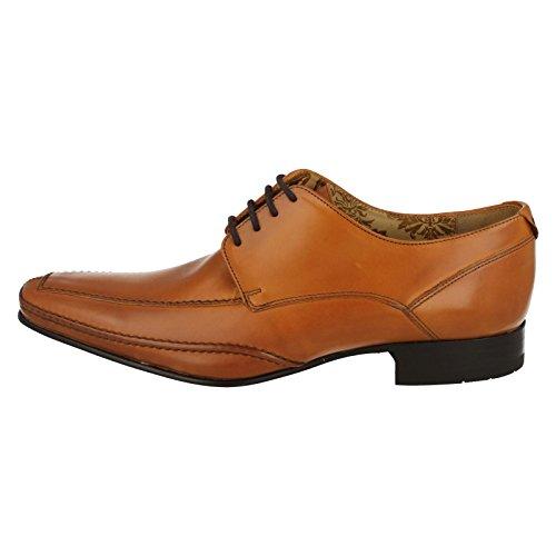 Loake Herren Lace Hurst Schuhe Leder Hautfarben up x7TaF