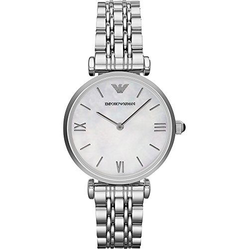 Emporio Armani Women's AR1682 Retro Silver Watch